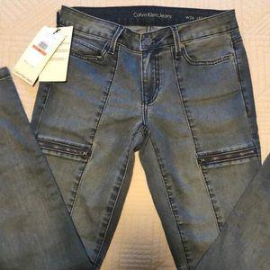 Calvin Klein Jeans Zipper Jeggings